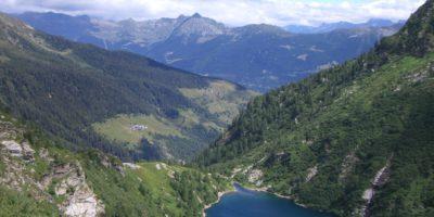 Laghetto Lago Bergsee Chironico Tessin Ticino