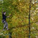 Highline Slackline Heiligberg Winterthur