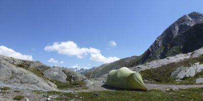 MSR Zelt Mutha Hubba Tent Lunghinsee Biwak