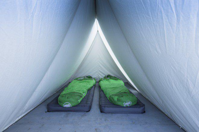 Basecamp Hörnligrat Schlafplätze