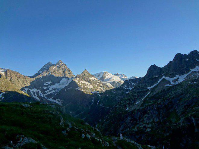 Panorama von der Sustlihütte zum Sustenhorn & Gwächtenhorn
