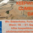 keepwild climbing days sidelenhütte