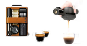 Kaffee für Unterwegs - mit der Handpresso-Maschine kein Problem!