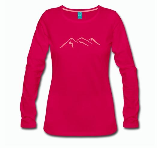 Langarmshirt Klettern Bouldern Damen