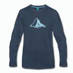 """Langarmshirt """"Matterhorn"""""""