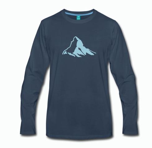 Langarmshirt Klettern Bouldern Herren