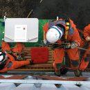 Verhandlungstisch in der Vertikalen. Bild: Greenpeace