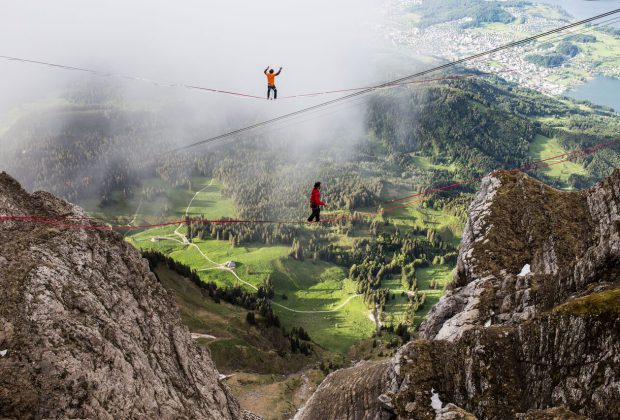 Highline Pilatus Slacktivity Sam Volery